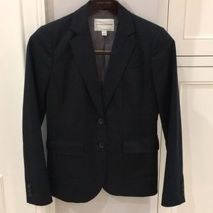 Banana republic black stretch blazer 6